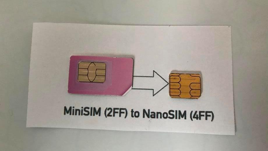 Jak przyciąć kartę SIM do formatu nanoSIM?