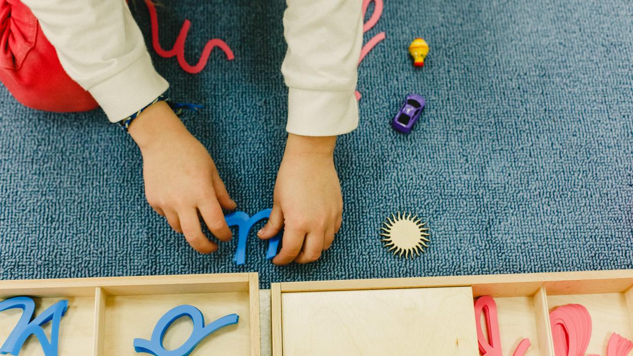 Nauka pisania od początku wg metody Montessori