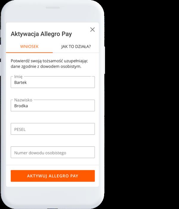 swobodne zakupy krok 1 allegro pay