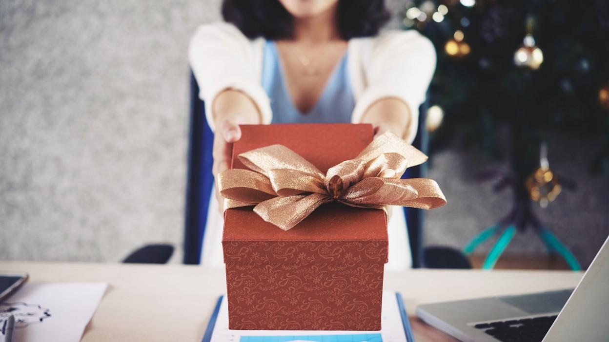 Świąteczne prezenty dla pracowników