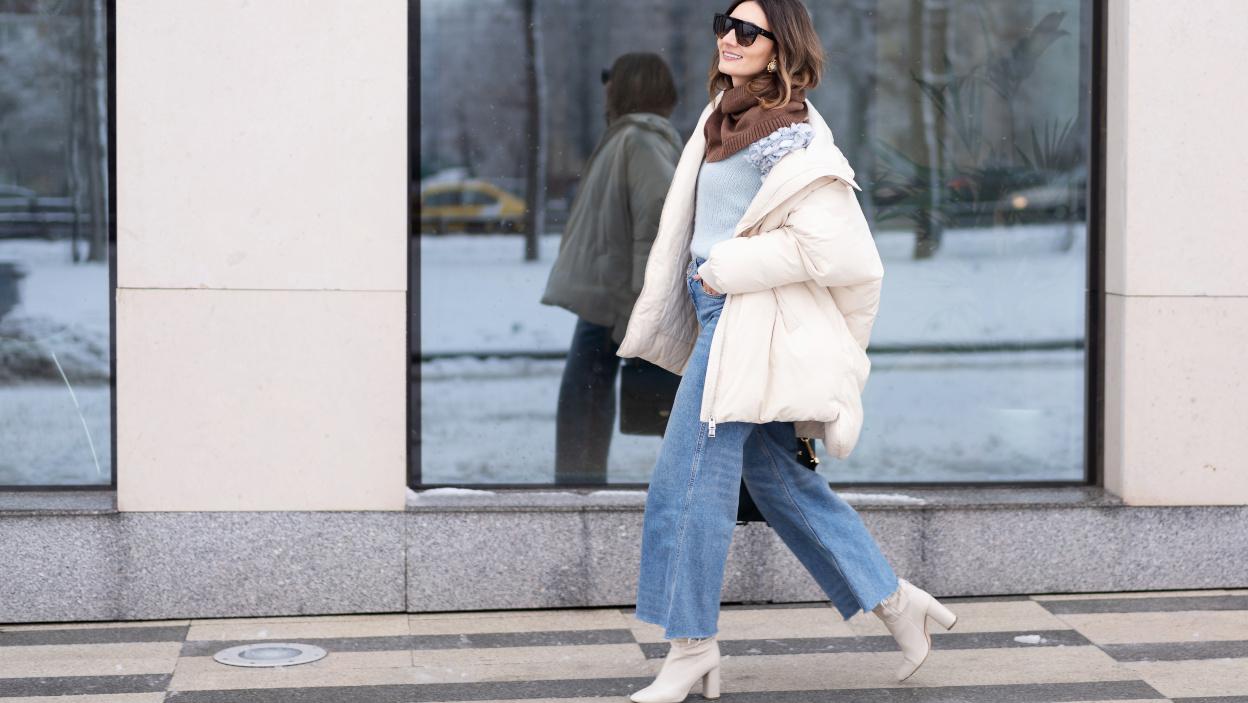 Szerokie jeansy powracają!