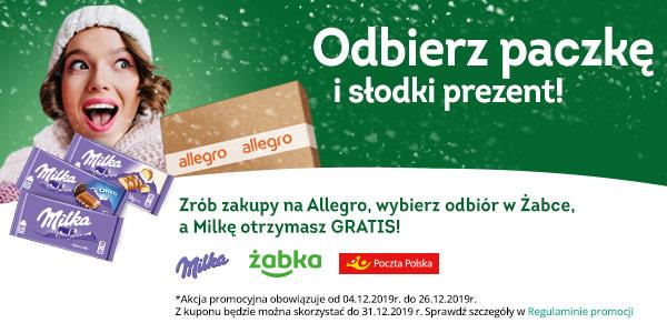 Odbierz paczkę i darmową Milkę z Allegro Smart!