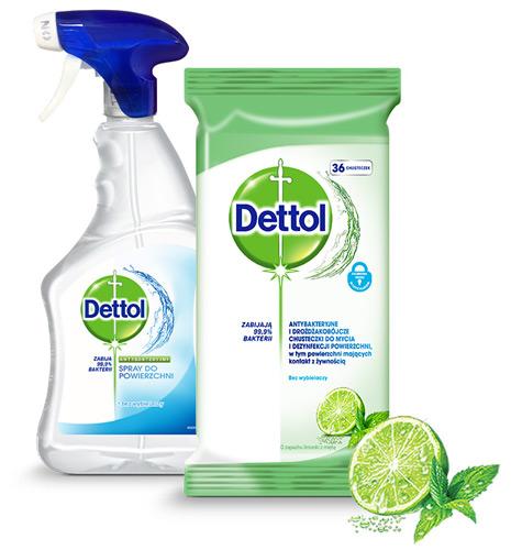 dettol products czyszczenie