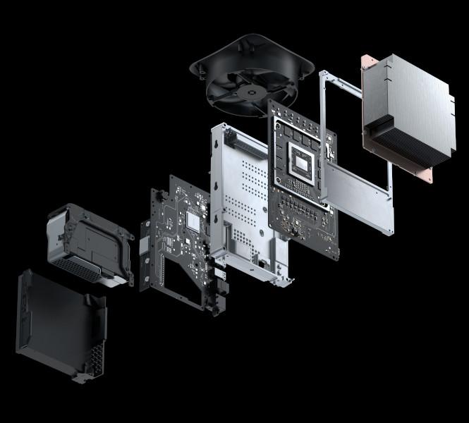 Xbox Series X podzespoły i budowa w szczegółach