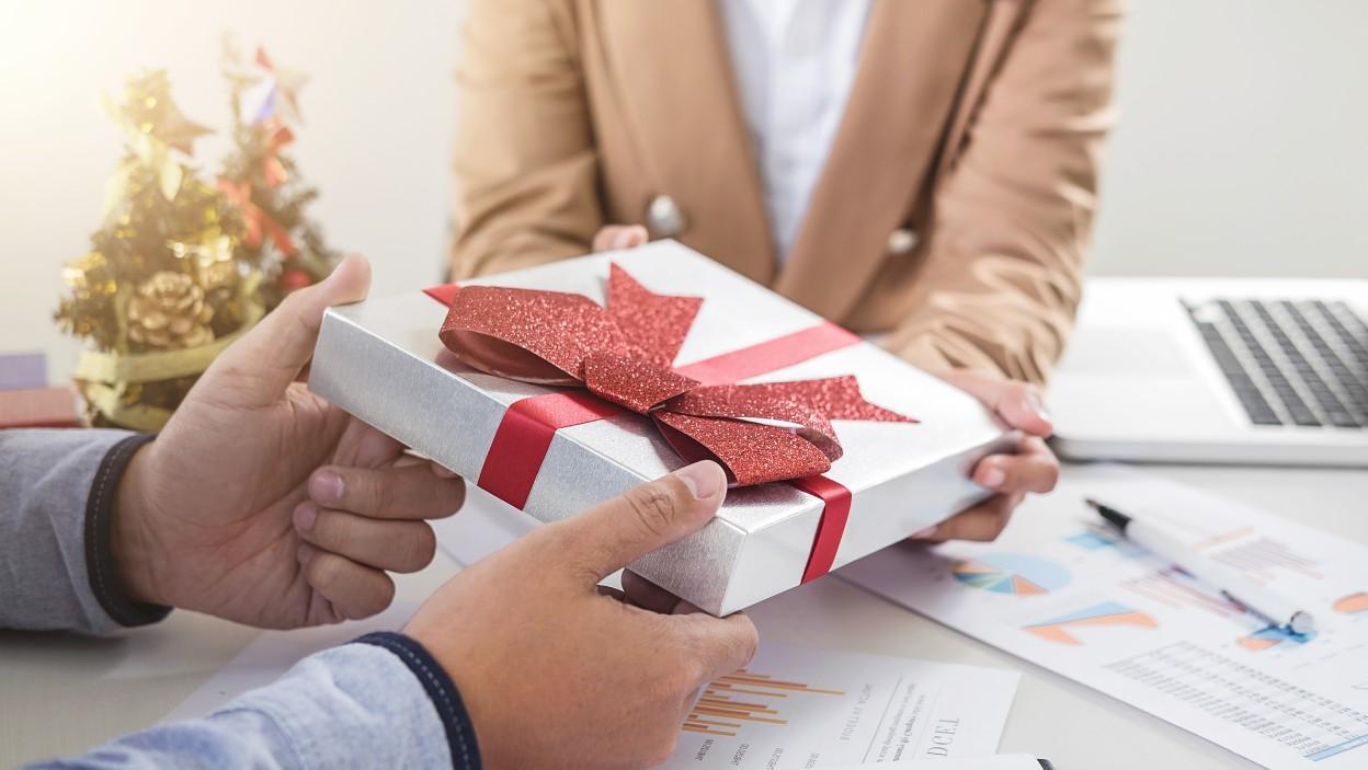 Świąteczne prezenty dla kontrahentów