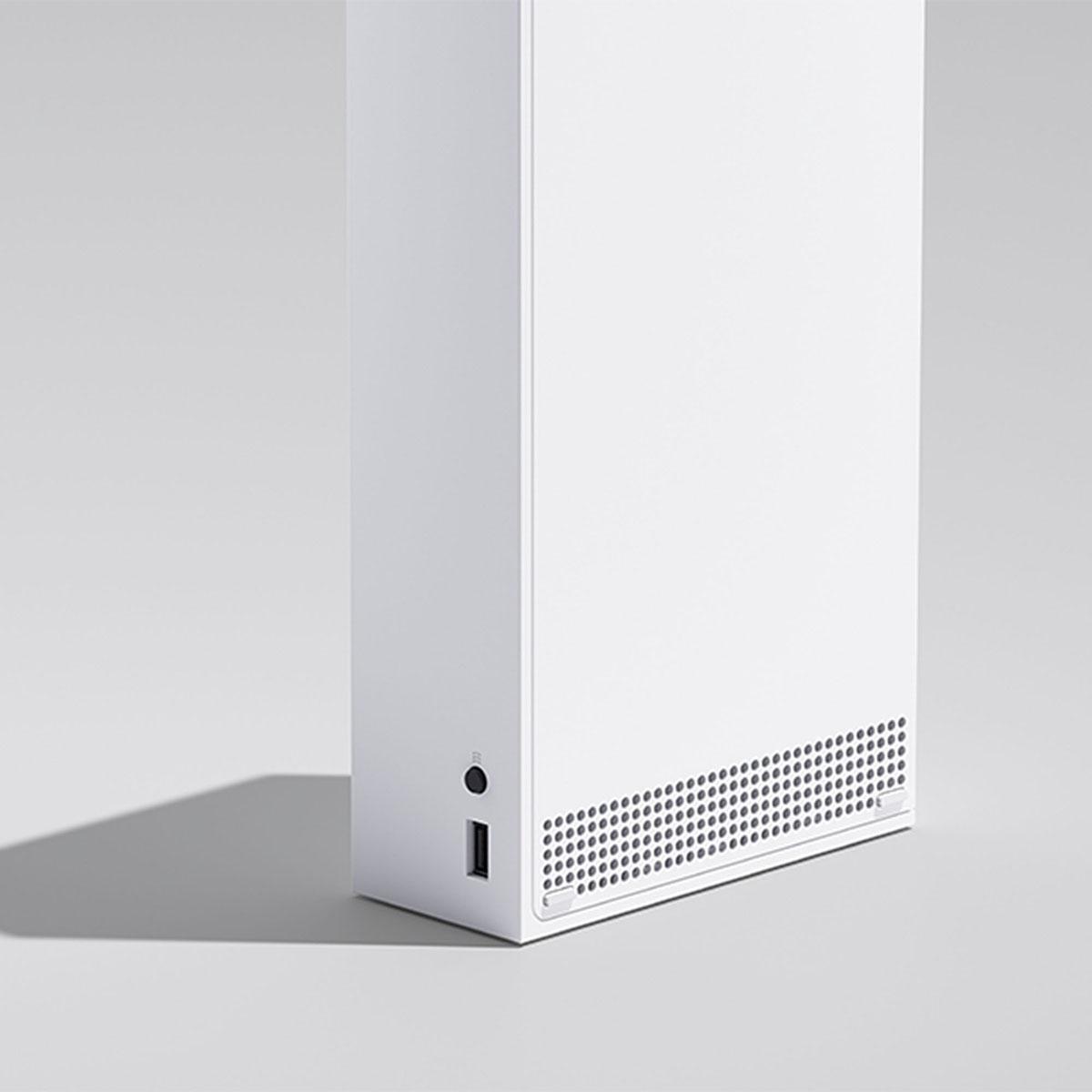 Xbox Series S z bliska
