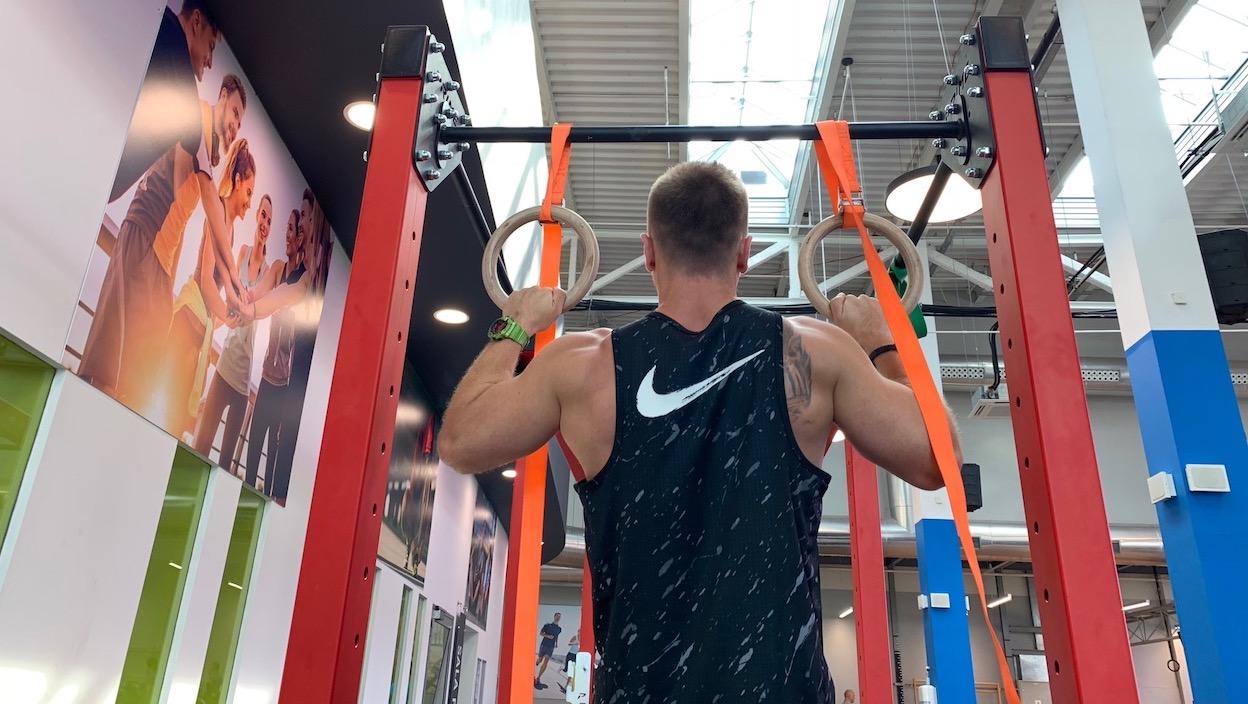 Ćwiczenia z kółkami olimpijskimi