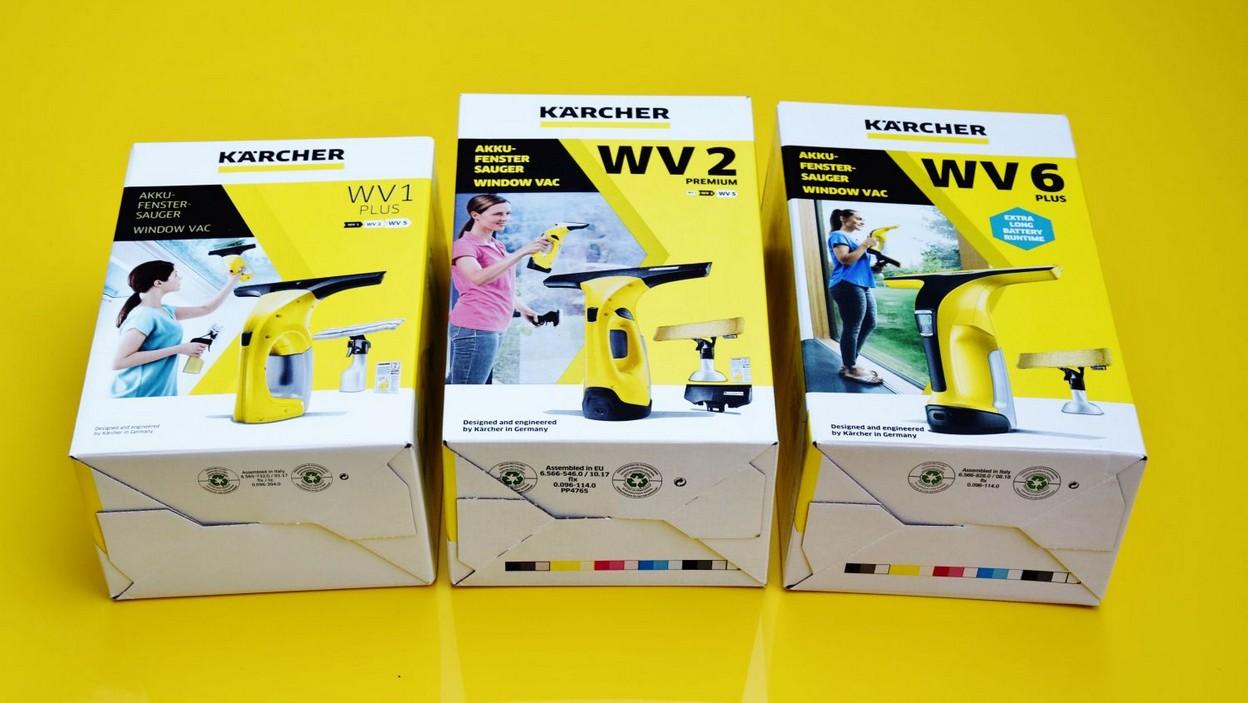 Test myjek Karcher WV1 Plus, Karcher WV2 Premium i Karcher WV6 Plus