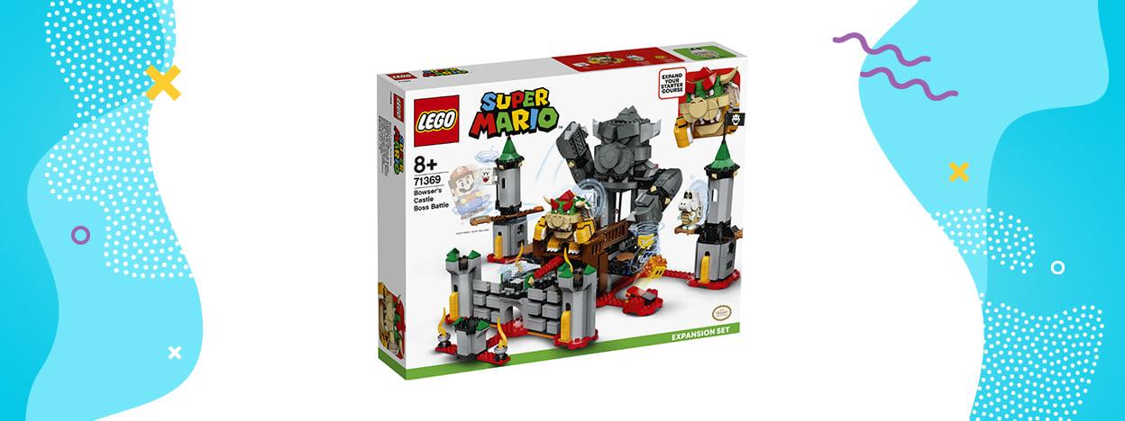 LEGO Super Mario Walka w zamku Bowsera (zestaw rozszerzający 71369)