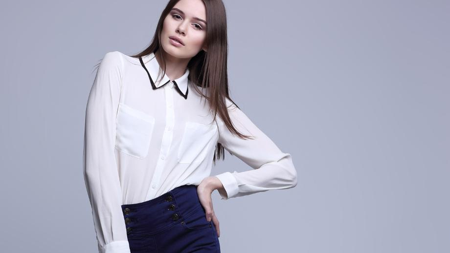 056824fff1eae1 Wizytowa koszula — klasyka w damskiej szafie - Allegro.pl