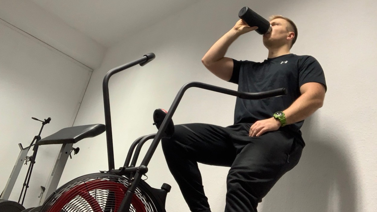trening rower i erekcja