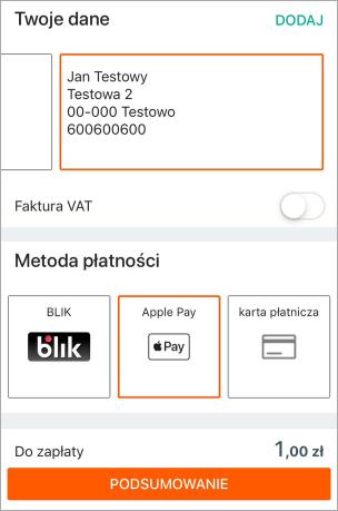 Jak Placic Apple Pay Za Zakupy Na Allegro Pomoc Allegro