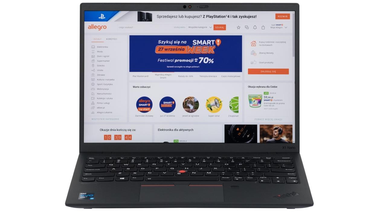 Test modelu Lenovo ThinkPad X1 Nano – fenomenalny ultrabook wagi piórkowej
