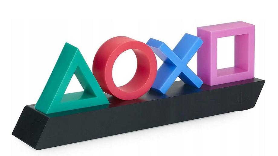 lampka PlayStation będzie robiła dobry klimat obok telewizora