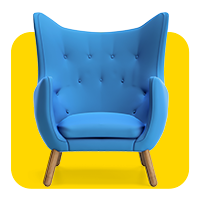 ikona krzeslo