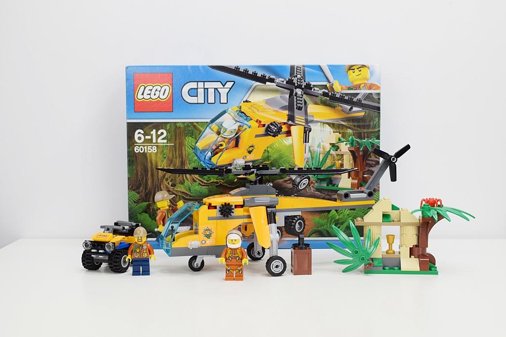 Lego City Helikopter transportowy 60158 – recenzja