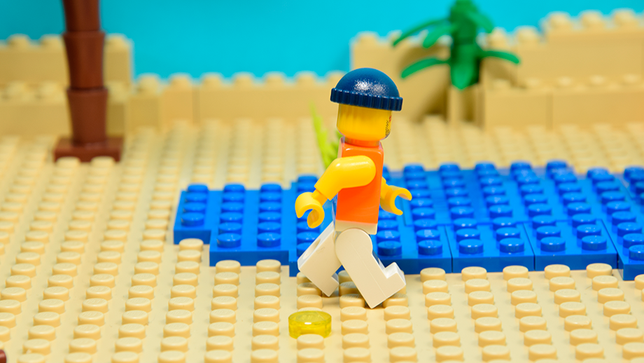 nohy postavy Lego