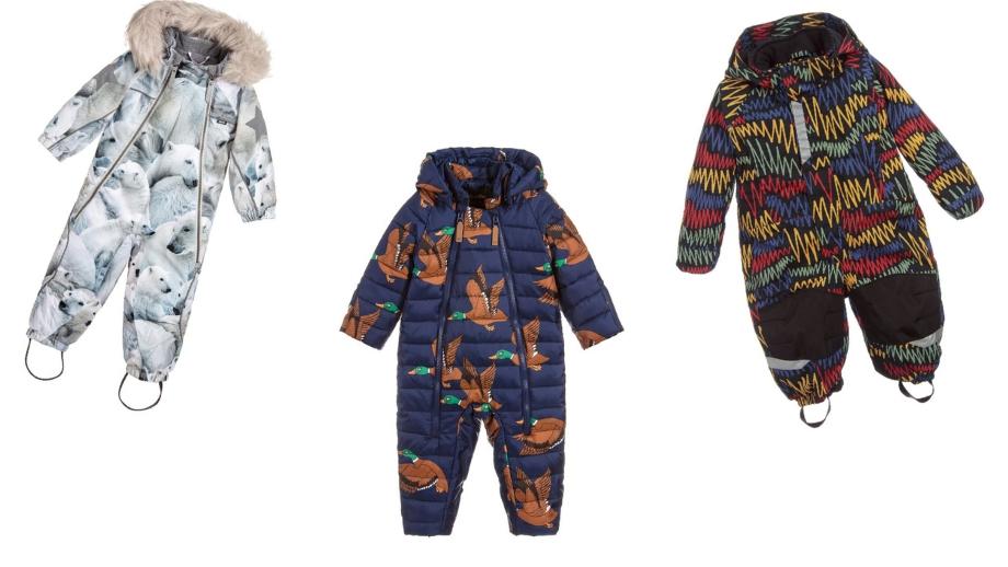 8222a52235 Pierwsza zima – przegląd modnych kombinezonów dla chłopczyka ...