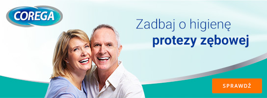 Corega - zadbaj o higienę protezy zębowej