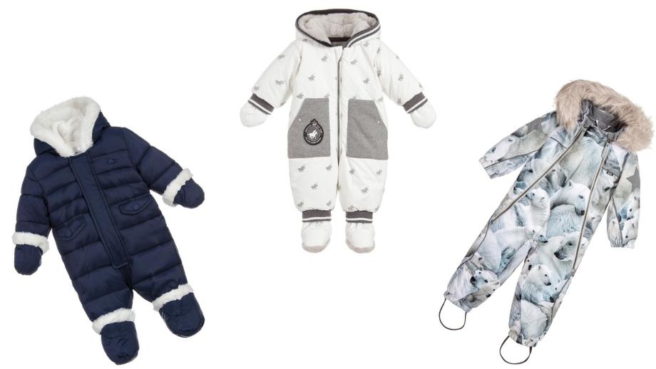 Pierwsza zima – przegląd modnych kombinezonów dla chłopczyka