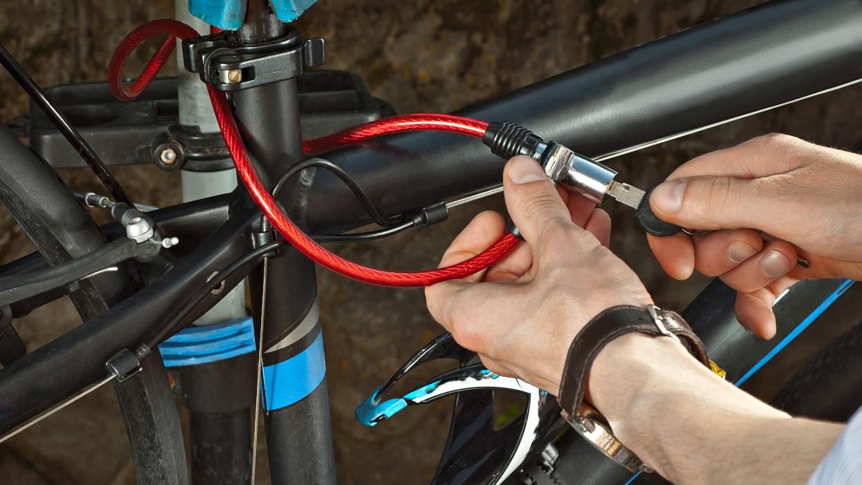 Lekkie zabezpieczenia rowerowe - kieszonkowe