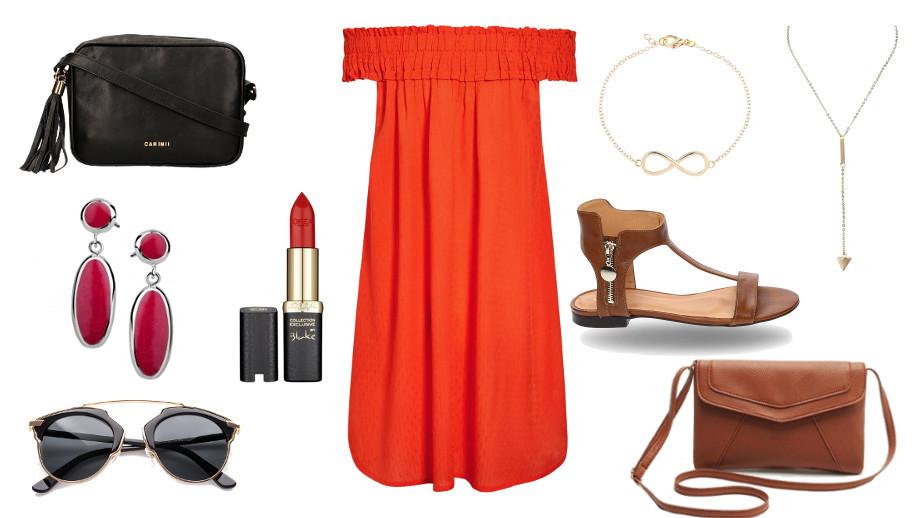 Sukienka hiszpanka na 3 sposoby