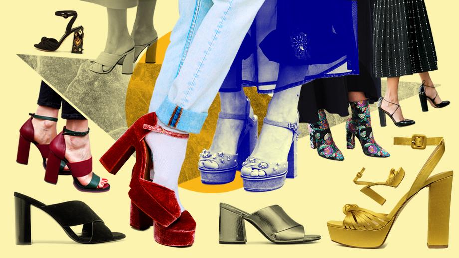 Na wysokim słupku - najmodniejsze obuwie w sezonie wiosna-lato 2019