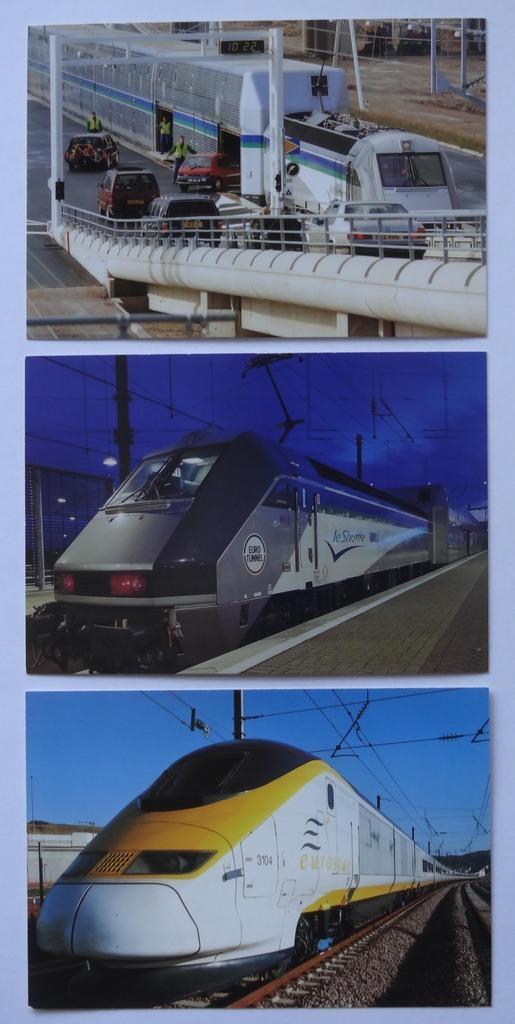Terminal Calais i Folkestone - Pociąg TGV Eurostar