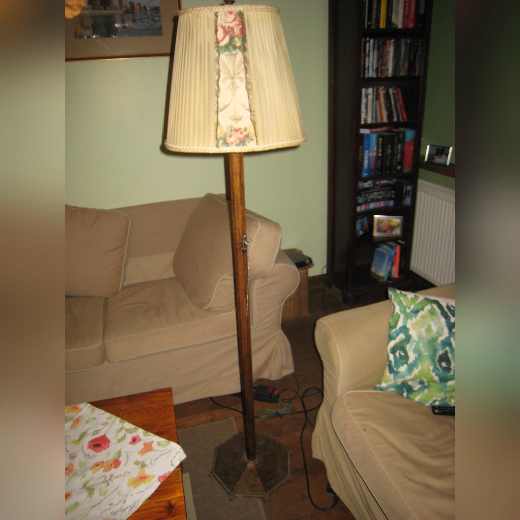 lampy stojące drewniane 1300 00 zł