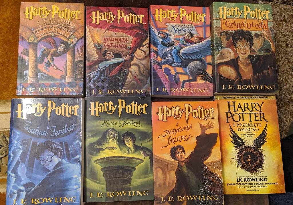 Licytacja J K Rowling Harry Potter Komplet 7 Tomow P D Lublin Allegro Lokalnie