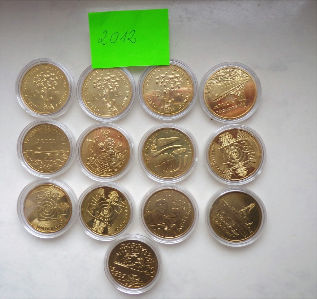 monety okolicznosciowe 2012