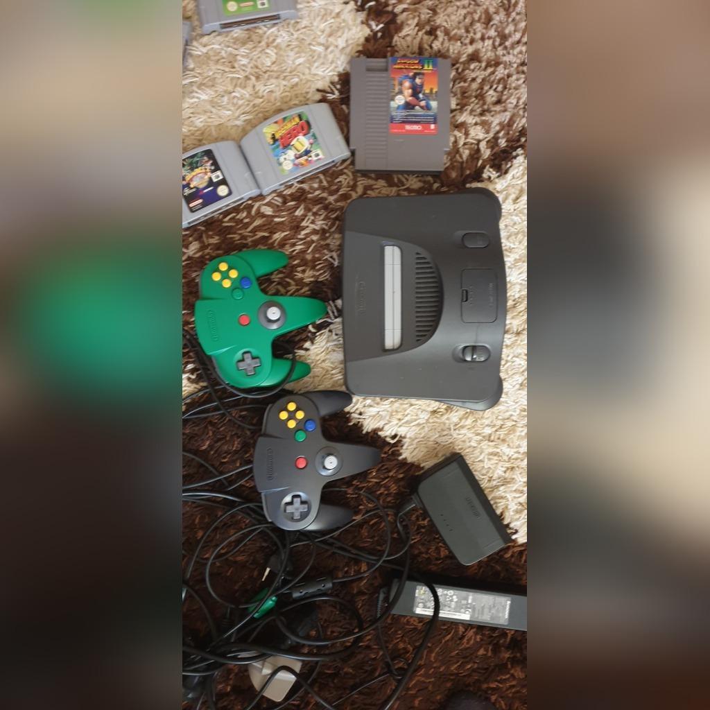 Купить Консоль Nintendo 64 с играми на Otpravka - цены и фото - доставка из Польши и стран Европы в Украину.