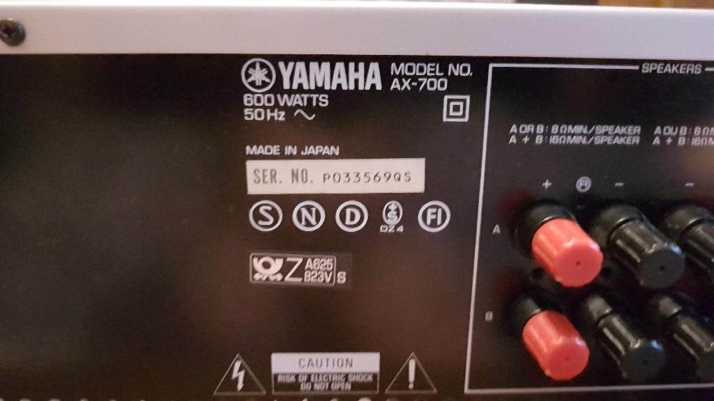 Yamaha Ax 700 Wzmacniacz Kup Teraz Za 849 00 Zl Lodz Allegro Lokalnie