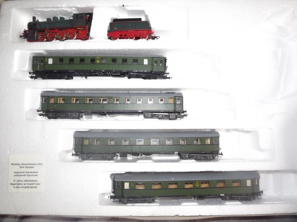 Комплект Г-8 с вагонами