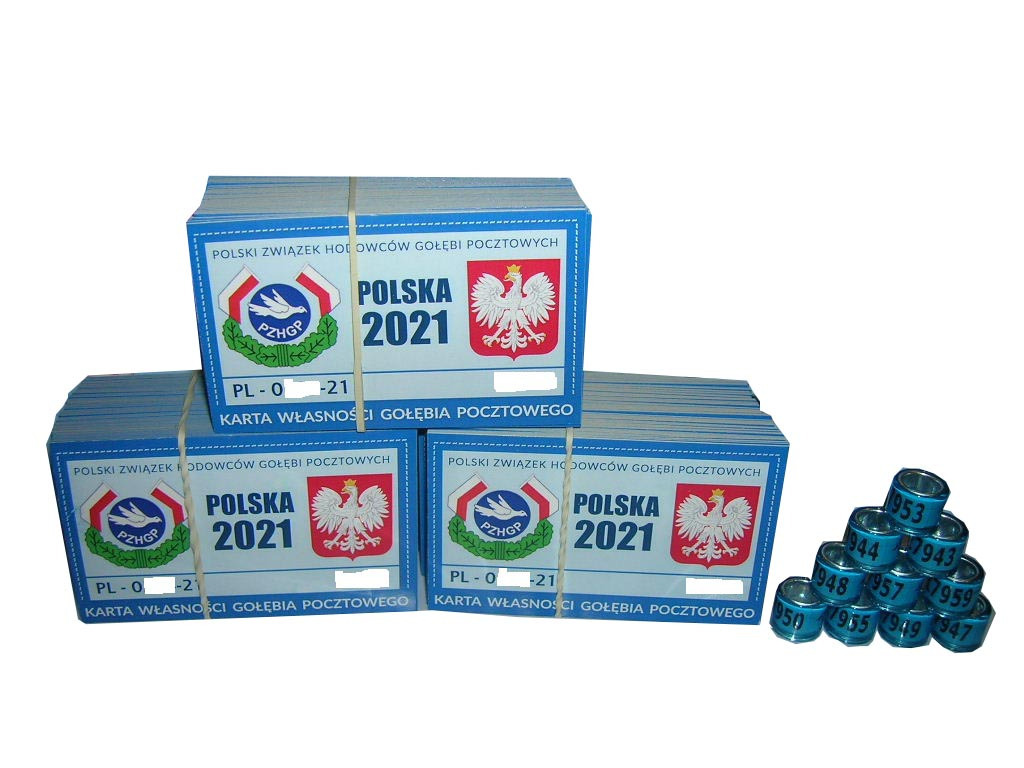 100% оригинальные кольца PZHGP 2021 FCI 20 шт.