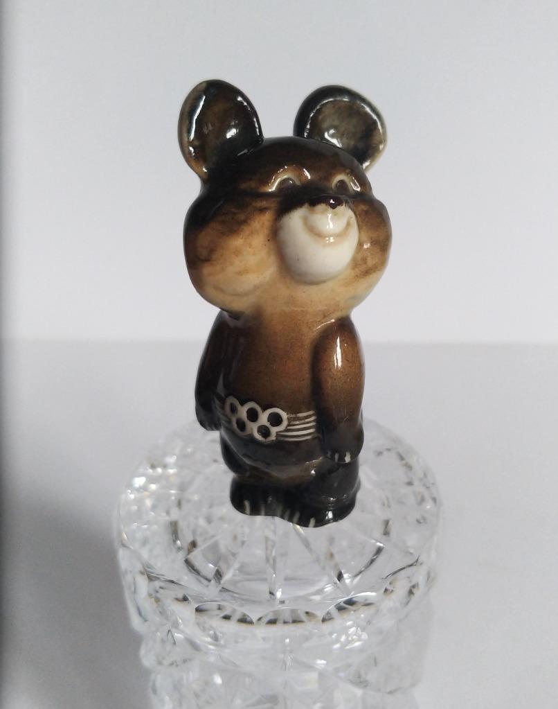 Miszka Figurka porcelanowa Rosja Kolekcja PRL
