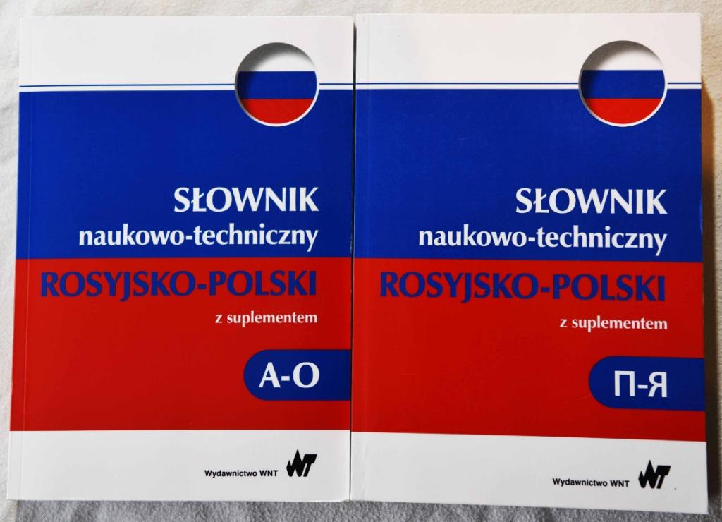 Slownik Naukowo Techniczny Rosyjski Polski Kup Teraz Za 125 00 Zl Ustron Allegro Lokalnie