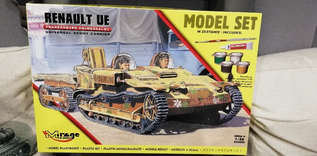 Model do sklejania Renaut