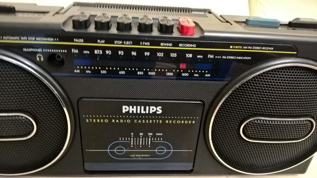 Stereo Radio Recorder D8070 /00 Philips - Austria