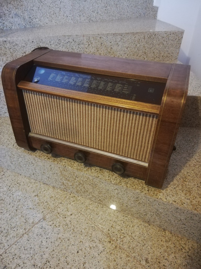 Radio lampowe Blaupunkt M51W, również wysyłka.