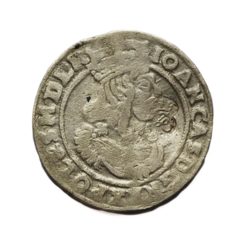 Szóstak 1666 kontramarka Potockich