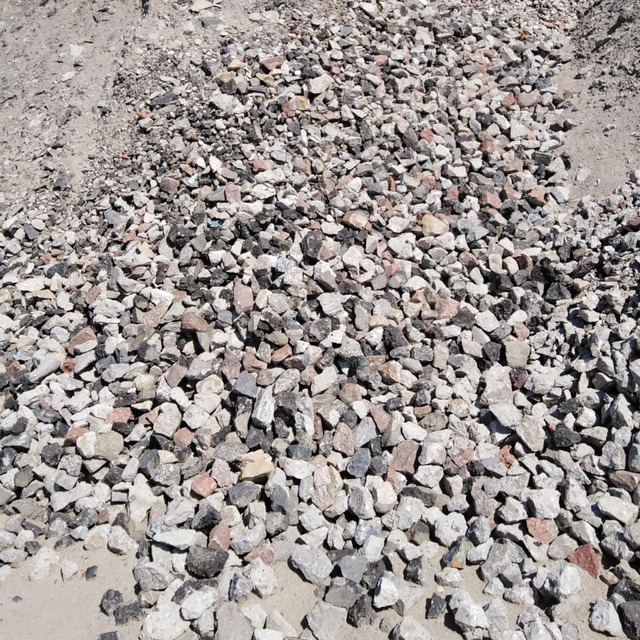 Kruszywo betonowe kruszbet gruz - frakcja 0-63 mm