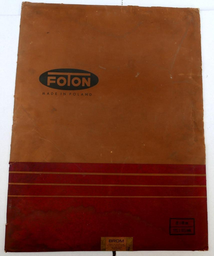 ФОТОН Большая бумага, 30х40, неоткрытая