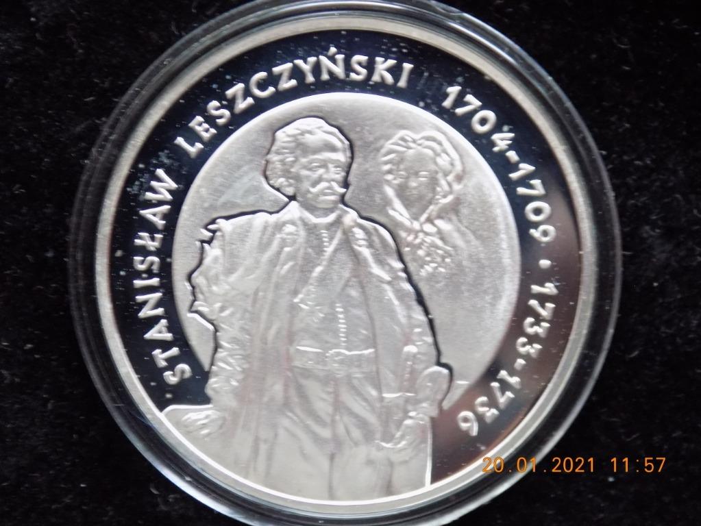 10 zł Ag Stanisław Leszczyński