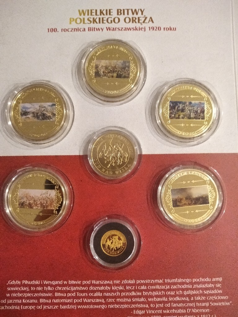 Wielkie Bitwy Polskiego Oręża kolekcja monet