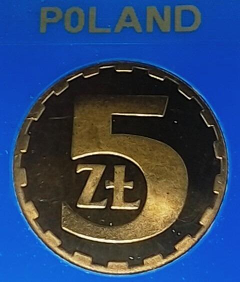 Moneta 5 zł Lustrzanka 1988 r. PRL
