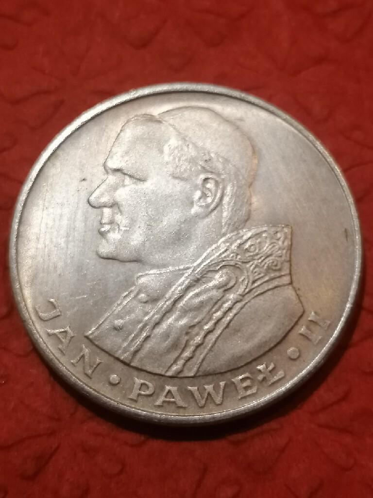 1000 zł złotych Jan Paweł II 1982
