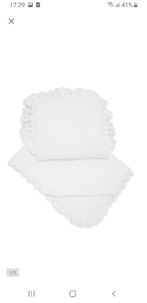 Ажурное одеяло + подушка