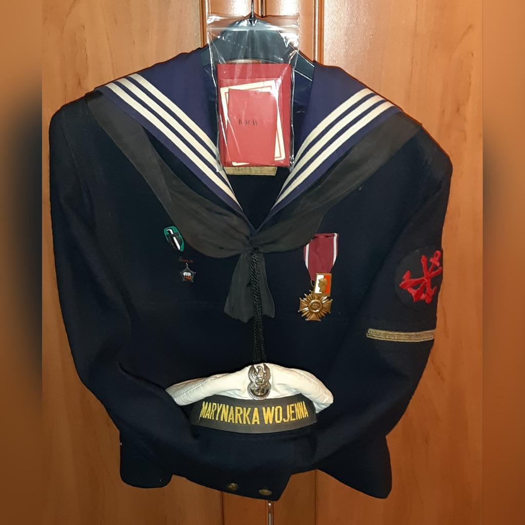 Mundur Marynarka Wojenna Lwp Lata 50 Czapka Bluza Kup Teraz Za 2850 00 Zl Poznan Allegro Lokalnie