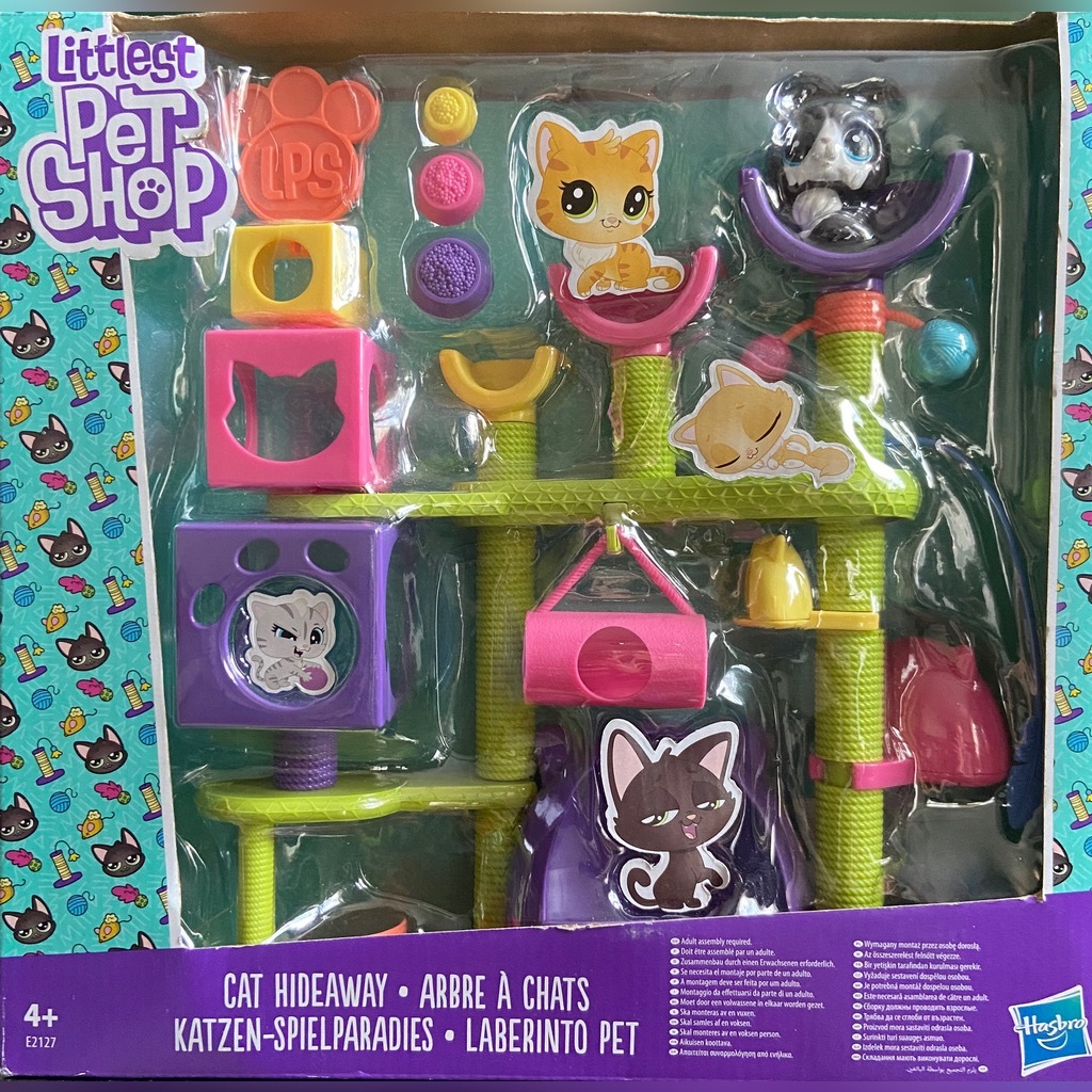 Littlest Pet Shop Koci Plac Zabaw Hasbro Kup Teraz Za 63 00 Zl Gdansk Allegro Lokalnie